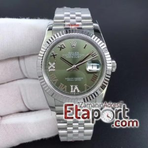 Rolex 3135SH Clone Eta Mekanizma DateJust 36mm GMF 904L Çelik