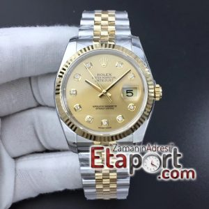 Rolex DateJust 36 SSYG 116233 ARF 11 Best Edition 904L Steel YG Dial Diamonds (1)