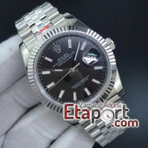 DateJust 36 SS 126234 GMF 11 Best Edition 904L Steel Black Dial Stick Markers on Jubilee
