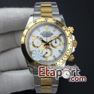 Rolex Daytona 7750 eta saat V2116503 JF 11 Best Edition White Dial on SSYG Bracelet