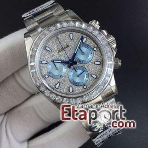 Rolex Daytona 116576TBR Full Paved Diamonds BLF Best Edition Diamonds Dial on Bracelet 4130