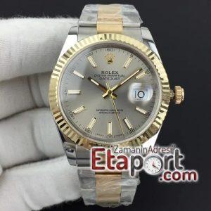 Rolex 3235 eta saat mekanizma DateJust II 41mm GMF 11 Best Edition YG Wrapped Gray