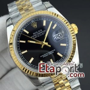 Rolex DateJust 36 SSYG 126233 ARF 11 Best Edition Black Dial Stick Markers on SSYG Jubilee