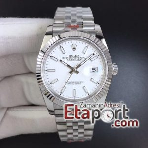 Rolex DateJust 36 mm eta saat 126234 GMF 11 Best Edition 904L Steel White Dial Jubilee