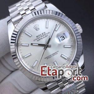 Rolex DateJust 41 126334 ARF Best Edition 904L Steel Silver Dial on Jubilee Bracelet