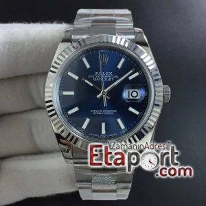 Rolex DateJust 41mm ARF Best Edition 904L Steel Blue Dial on Oyster Bracelet 3235SH