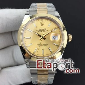 Rolex DateJust II 41mm noob facroty Best Edition Wrapped Sticks Dial on Oyster