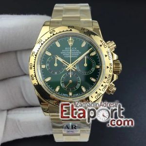 Rolex Daytona 116508 ARF Plated 904L SS Case and Bracelet Green Dial 4130 Super Clone V2