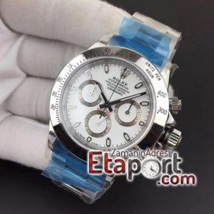 Rolex Daytona SA4130 116520 Noob Best Edition 904L SS Case and Bracelet White Dial