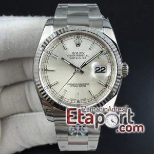 Rolex Eta Saat DateJust 36 116234 ARF 11 Best Edition 904L Steel Silver Dial on Jubilee 3135 V2