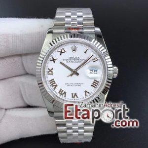 Rolex Replika eta saat DateJust 36 SS 126234 GMF 11 Best Edition 904L Steel White Dial