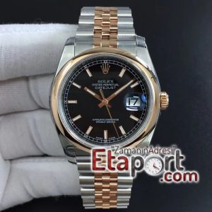 Rolex dateJust 36 SSRG 116201 ARF 11 Best Edition Black Dial Stick Markers SSRG Jubilee