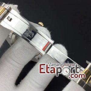 Rolex eta saat A3235 DateJust II 41mm GMF 11 Best Edition YG Wrapped MOP Diamond Dial on SSYG Oyster Bracelet