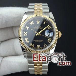 Rolex eta saat DateJust 36 116234 GMF 11 Best Edition YG Wrapped Black