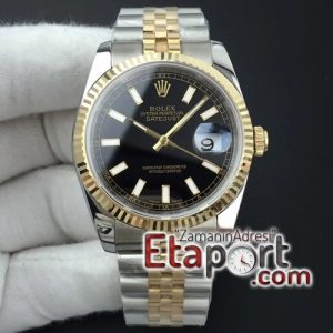 Rolex eta saat DateJust 36 116234 GMF Best Edition Wrapped Black (1)