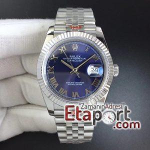 Rolex eta saat DateJust 36 126234 GMF Best Edition 904L Steel Blue Dial Roman Marker