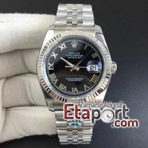 Rolex eta saat DateJust 36 SS 116234 ARF 904L Roman Markers