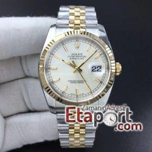 Rolex eta saat DateJust 36 mm 116233 ARF 11 Best Edition 904L Steel White Dial St