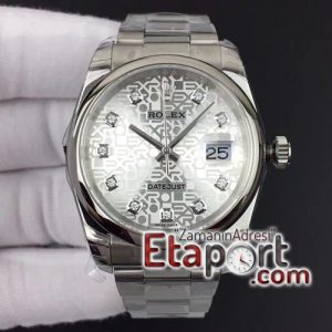 Rolex eta saat Datejust 36mm 116234 Smooth Bezel DJF Super 11 Best Edition Diamo