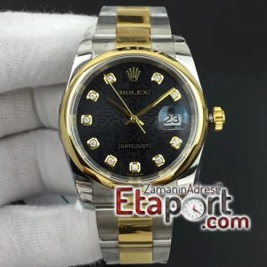 Rolex marka eta saat Datejust 36mm 116234 SSYG Smooth Bezel