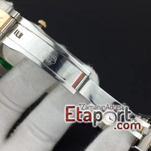 Rolex noob 3235 swiss clon DateJust II 41mm YG Wrapped Silver Sticks Dial on Oyster