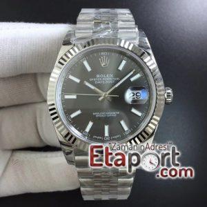 Rolex super clon 3235 DateJust 41 126334 904L SS DJF 11 Best Edition Gray Dial