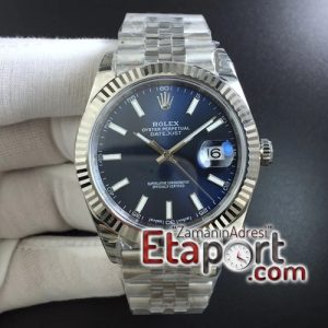 Rolex super clon DateJust 41 126334 904L SS DJF 11 Best Edition Blue Dial