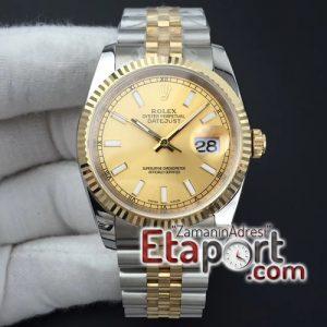 Rolex 3235 Eta Mekanizma DateJust 36mm Super Clone Eta 904L Çelik
