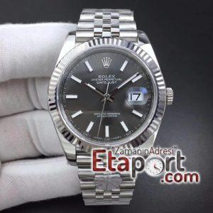Rolex DateJust 41mm 3235SH Super Clone 126334 ARF Best Edition 904L Steel Gray Dial on Jubilee Bracelet Eta