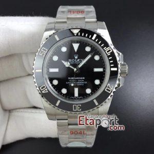 Eta Saat Rolex Submariner Black swiss eta saat super clon 3135 eta mekanizma