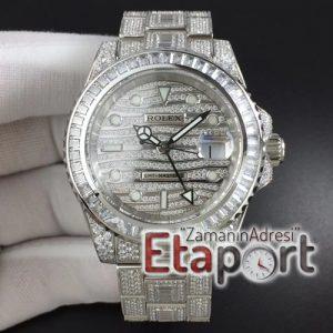 GMT Master II 116769 BRIL Full Diamonds Watch TWF Best Edition A2836