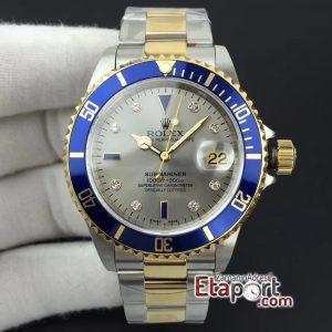 Rolex Submariner 2836 Clone Eta Mekanizma Mavi Bezel