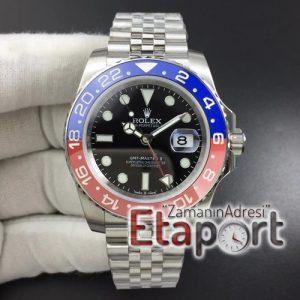GMT Master II 126710 Real Ceramic 904L DJF Black Dial on Jubilee Bracelet eta 3186