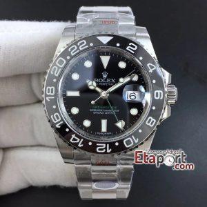 GMT Rolex Master II Clone EtaBlack Ceramic 904L Steel Noob