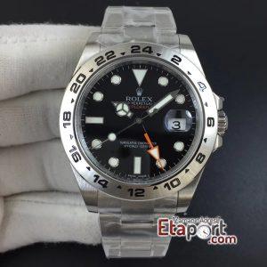 Rolex Explorer II Noob 3187 Super Clone Eta Mekanizma