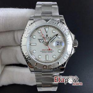 Rolex Yacht-Master ARF 904L Çelik 3135 Super Clone Eta Mekanizma Gümüş Kadran